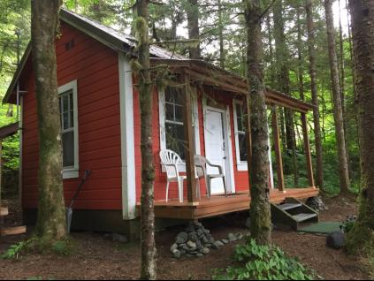 New porch & windows